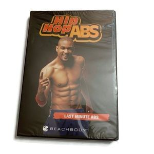 Hip Hop ABS LAST MINUTE ABS 5 minute Workout DVD.